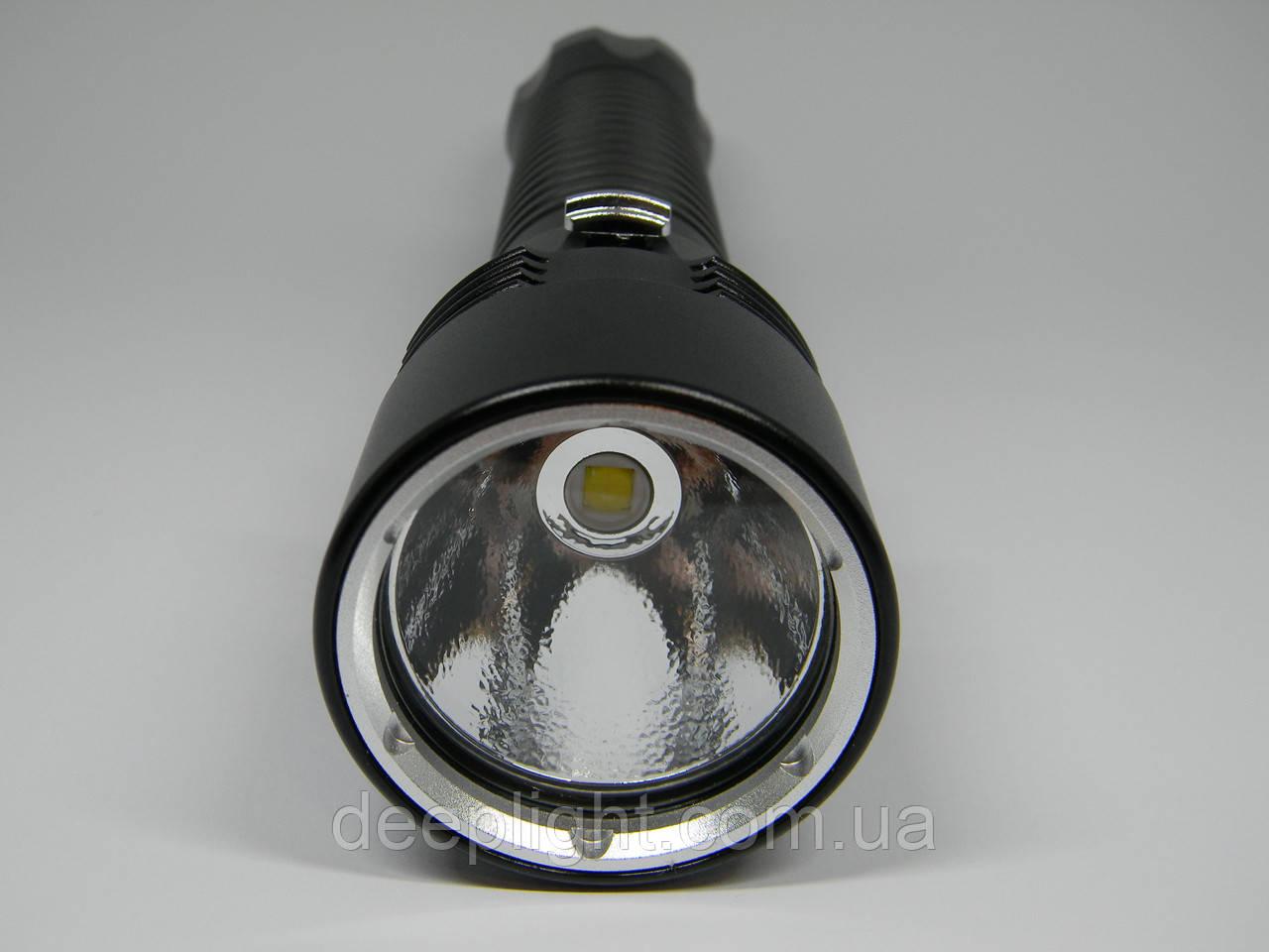 Підводний ліхтар Deeplight P50 з білим світлом на Cree XHP50.2 18W під 26650/18650