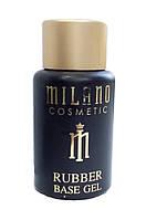 Каучуковое базовое покрытие для ногтей  Milano 35мл