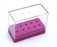 Подставка под насадки для фрезера маникюрного на 10 шт