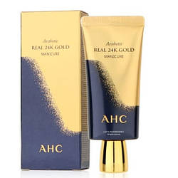 Маска з колоїдним золотом AHC Aesthetic Gold manicure
