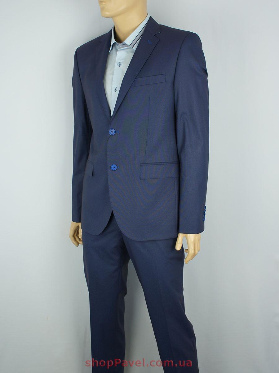 Синий мужской классический костюм Giordano Conti 213