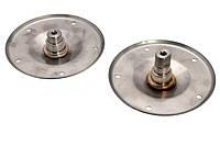 Фланец стиральной машины Whirlpool 480110100802 нержавейка (комлект)