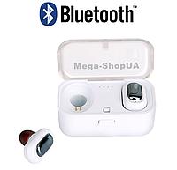 Вакуумные наушники и гарнитура беспроводные Bluetooth блютуз L-1W для телефона. Бездротові вакуумні навушники