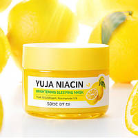 Ночная маска для лица Some by mi Yuja Niacin Brightening Sleeping Mask(60g)