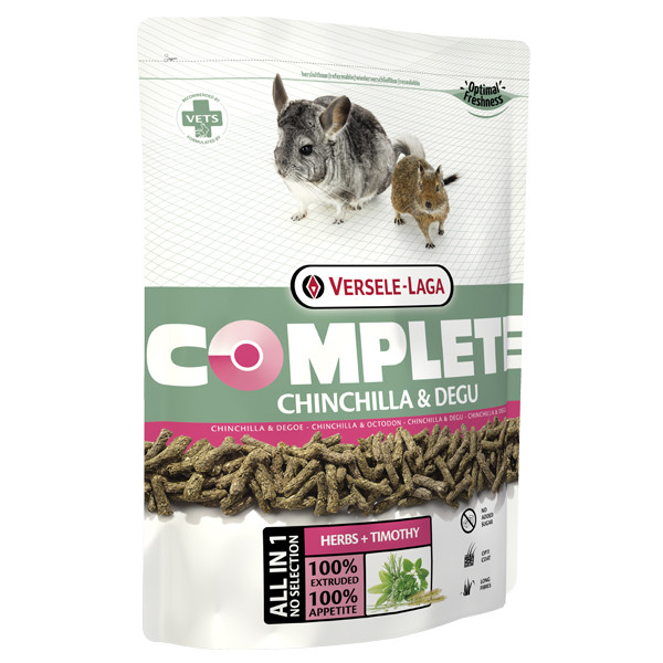 Корм для шиншилл и дегу Versele-Laga Complete Chinchilla & Degu гранулированный 500 г