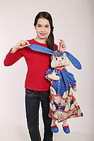 Пакетница Зайчиха с зайчатами. Символ Семьи., фото 1
