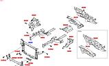 Панель передня кіа Соренто 4, KIA Sorento 2015-18 UM, 64101c5000, фото 5