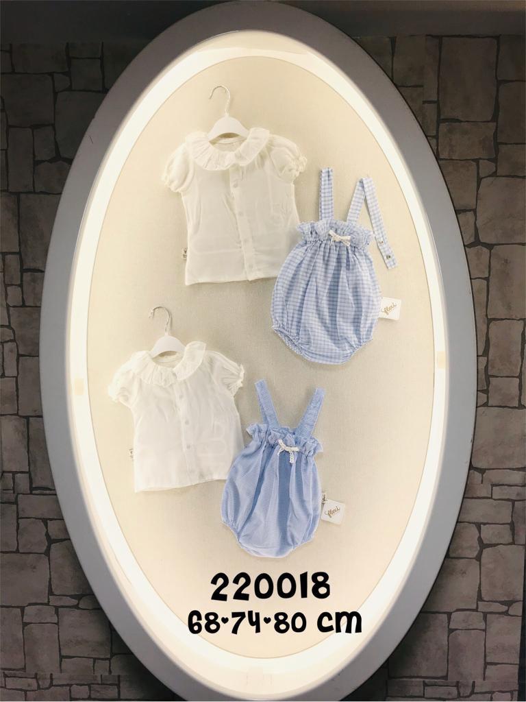 Комбинезон песочник для девочки 6-12 месяцев