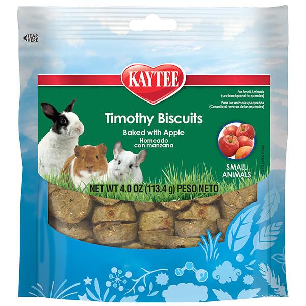 Лакомство для грызунов Kaytee Timothy Biscuits Apple печенье с яблоком 114 г