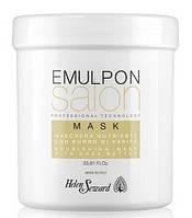 Питательная маска с пшеничными протеинами и маслом карите Emulpon, Helen Seward