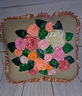 """Интерьерная подушка """"Розы1"""""""