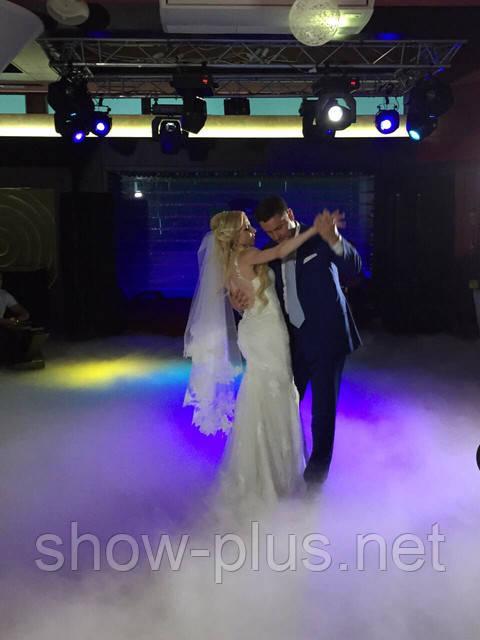 Эффект танца в облаках: востребованный спецэффект на любой свадьбе