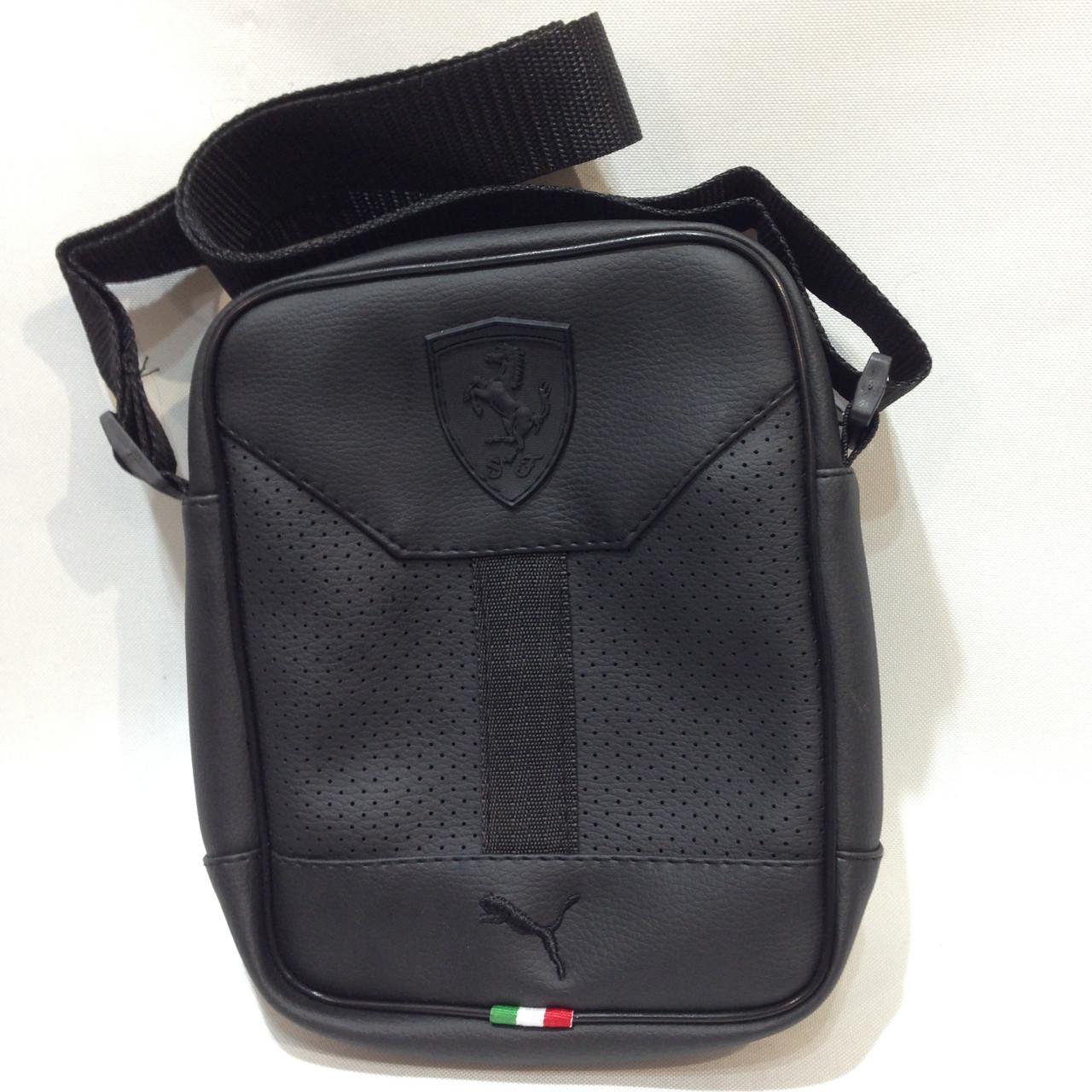 Мужская барсетка в стиле Puma, сумка через плечо