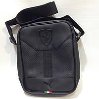 Мужская барсетка в стиле Puma, сумка через плечо, фото 1
