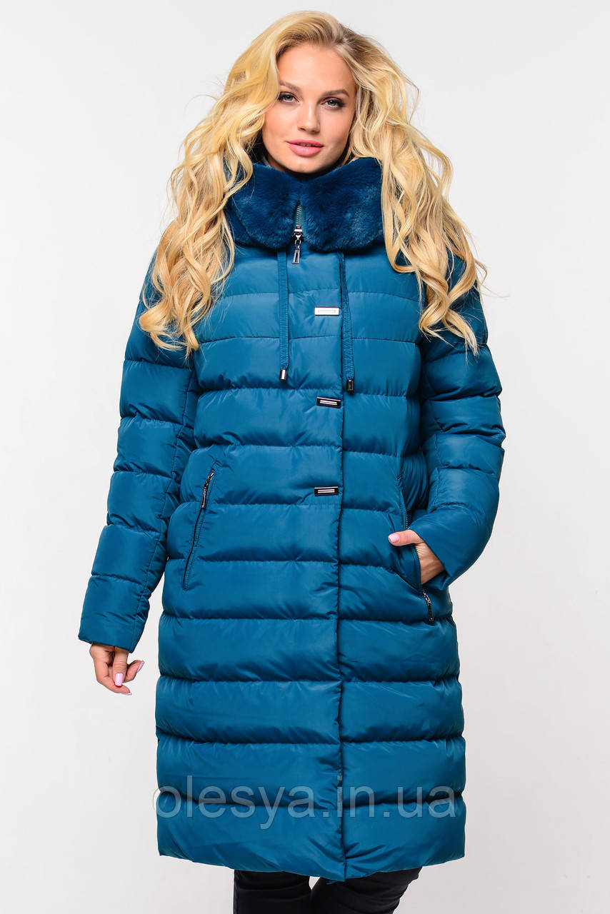 Пальто женское зимнее Аксинья ТМ Нуи Вери  - размеры 48- 64