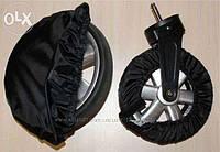 Чехлы для колес коляски, бахилы многоразовые для колес, чехлы для колес,поворотные колеса