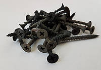 Шуруп 3,5*25 самонарезной черн (гипс и мет.) тыс.шт, фото 1