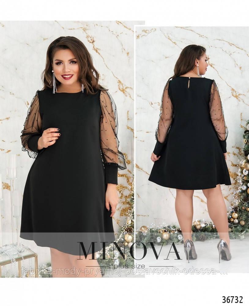 Платье №143Б-черный