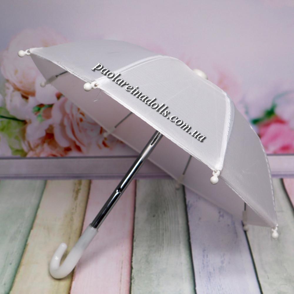 Зонтик для кукол белый