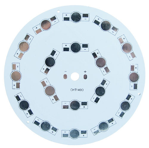 Печатная плата  KEY-100X18 MPCB d=100mm для світлодіодів емітер 4136с