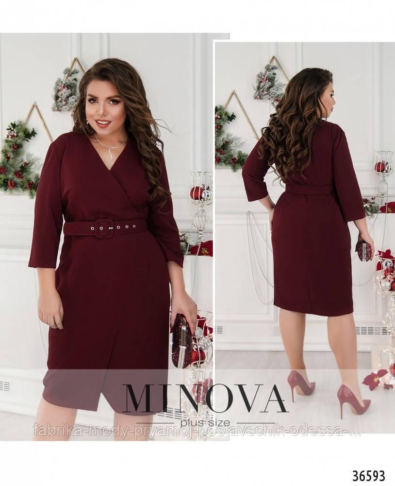 Платье №107-1-сливовый