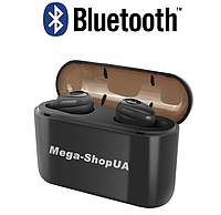 Беспроводные Bluetooth наушники X8 TWS. Бездротові вакуумні навушники. Беспроводні блютуз блютус наушники, фото 1