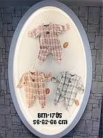 Человечки для малышей в клеточку 2-6 месяцев