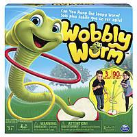 """Сімейна гра Кільцекид Spin Master """"Танцюючий хробак"""" - WOBBLY WORM (B01JA24J7S) (6036252)"""