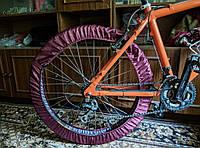 Чехлы для колес велосипеда, бахилы многоразовые, велочехлы, чехлы от грязи, 26 дюймов