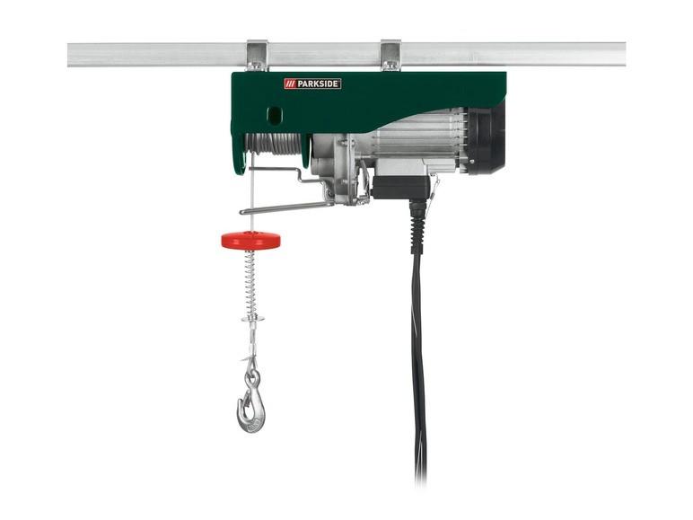 Электрическая канатная лебедка Parkside PSZ 600 A1