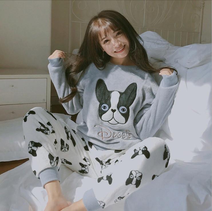 """Купить женскую пижаму для сна """"Doggie"""" Интернет-магазин низких цен Доставка по всей Украине 1-3 дня."""