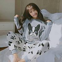 """Купить женскую пижаму для сна """"Doggie"""" Интернет-магазин низких цен Доставка по всей Украине 1-3 дня., фото 1"""