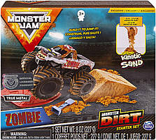 Набір Monster Jam Зомбі монстр з кінетичним піском