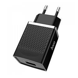 Сетевое зарядное устройство 3.0A Hoco C42A 1USB черный