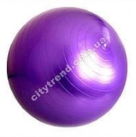 Фитбол (мяч для фитнеса) Solex гладкий 55 см