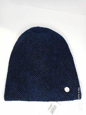 Шапка женская Нинэль синяя, фото 2