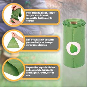 Гигиенические пакеты 120шт для собак + брелок-держатель (8 рулонов), пакеты для какашек, фото 3