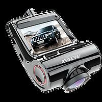 Премиальный Видеорегистратор в автомобиль DVR 7312-V1 WIFI с двумя камерами