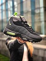Зимние Мужские Кроссовки Nike Air Max Ultra 95 Sneakerboot Winter   Найк Аир Макс 95 (ТОП реплика)