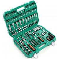 Набір інструментів ключів головок + 3 тріщотки 172шт Набор головок ключей инструментов KRAFT&DELE 172шт Польша