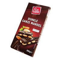 Шоколад черный  Fin Carre с цельным миндалем Германия 200г