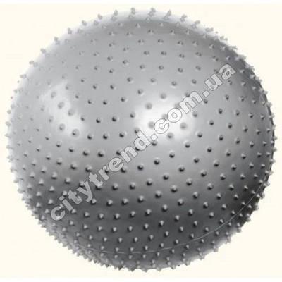 Фитбол (мяч для фитнеса) PS масажный 75 см