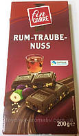 Шоколад молочный  Fin Carre Rum Trauben Nuss Германия 200г