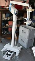 Мобильный операционный микроскоп  Möller-Wedel HI-R 900 mit Bodenstativ FS-2012 und Fußschalter EF-4000, фото 1