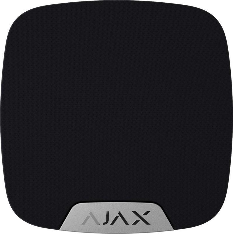 Беспроводная домашняя сирена Ajax HomeSiren Black (8681.11.BL1)