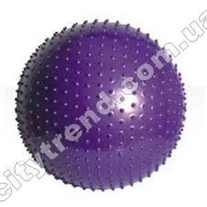 Фитбол (мяч для фитнеса) Solex масажный 55 см с насосом и DVD