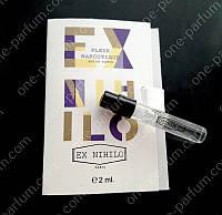 Пробник EX NIHILO Fleur Narcotique (Екс Нихило Флер Наркотик), 2 мл