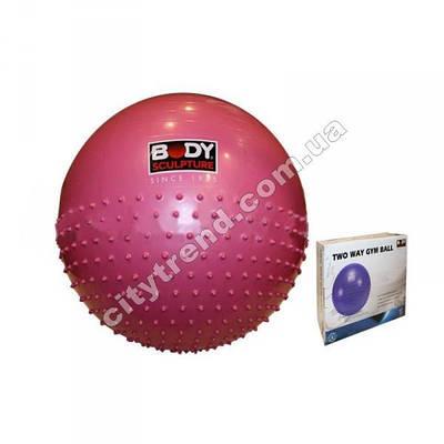 Фитбол (мяч для фитнеса) Solex полумасажный 65 см