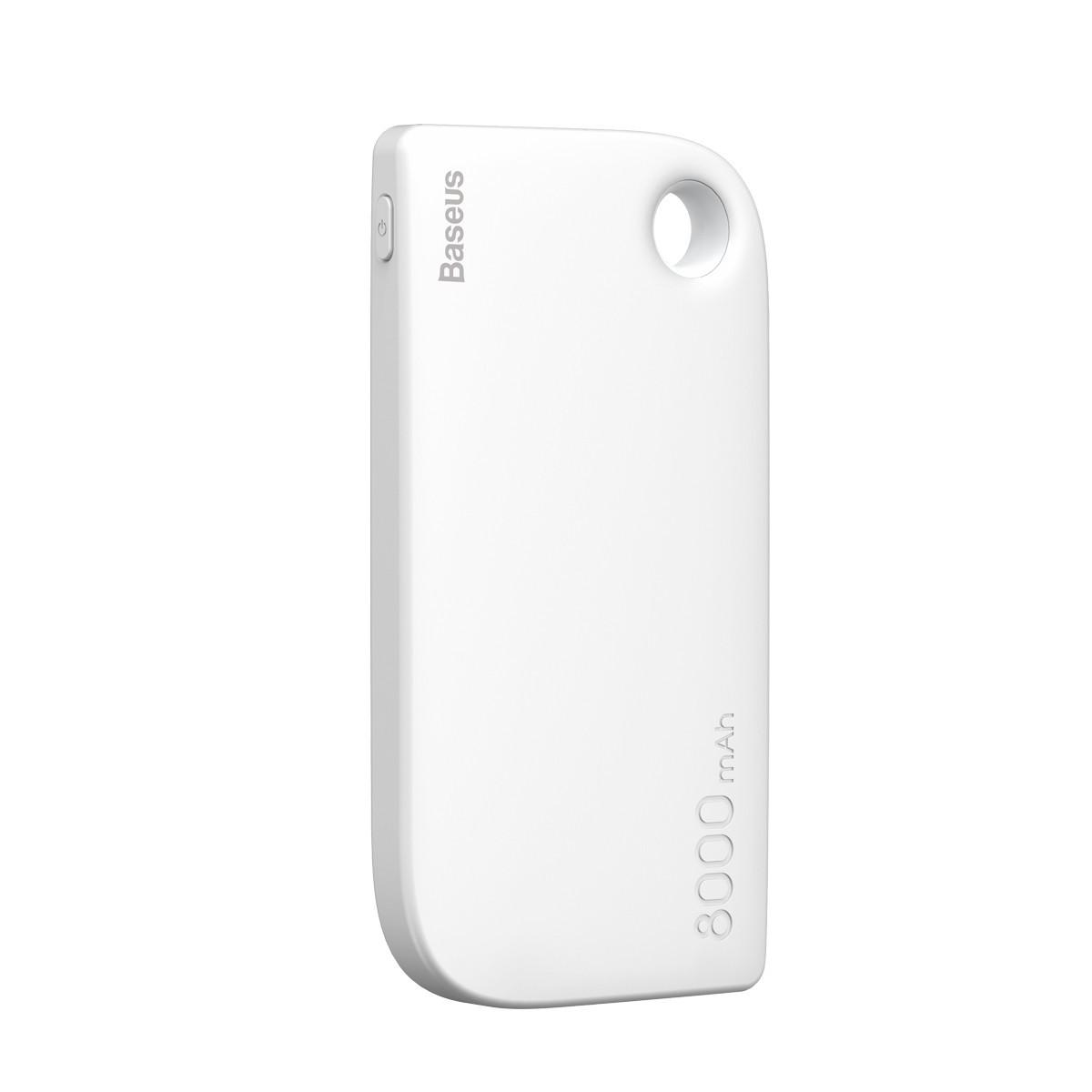 Внешний Аккумулятор Baseus Fan 8000mAh White (PPM11-02)