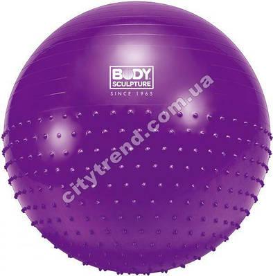 Фитбол (мяч для фитнеса) Solex полумасажный 75 см
